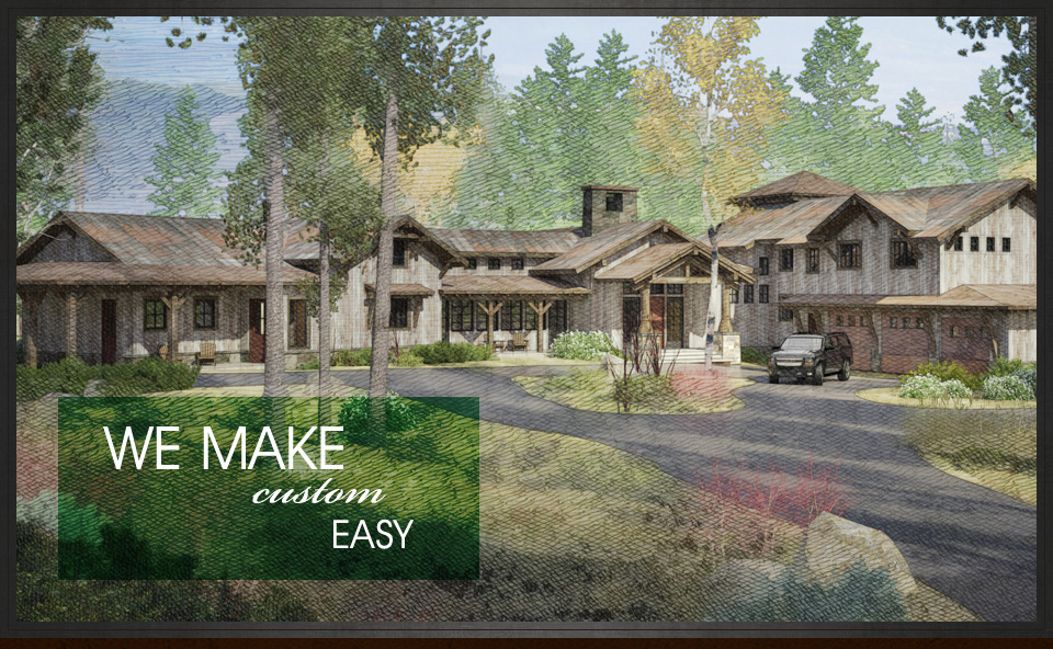 Affordable Custom Home Builders- Craftsman Contemporary